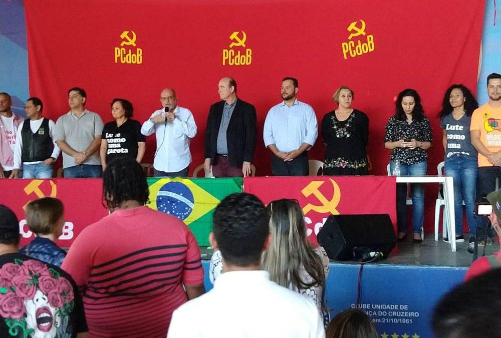 PCdoB lança candidatos ao Legislativo e aprova coligação para majoritários