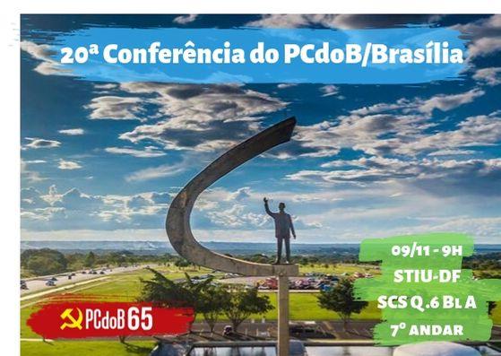 Edital de convocação da Conferência do PCdoB/Brasília