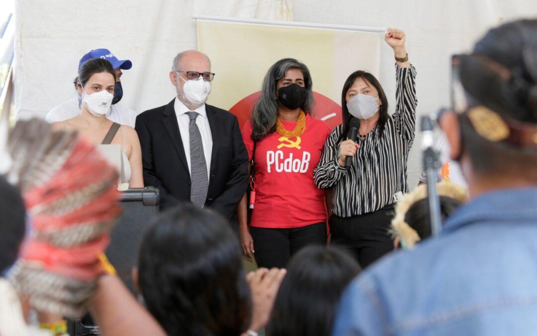 PCdoB reitera luta em defesa dos direitos indígenas